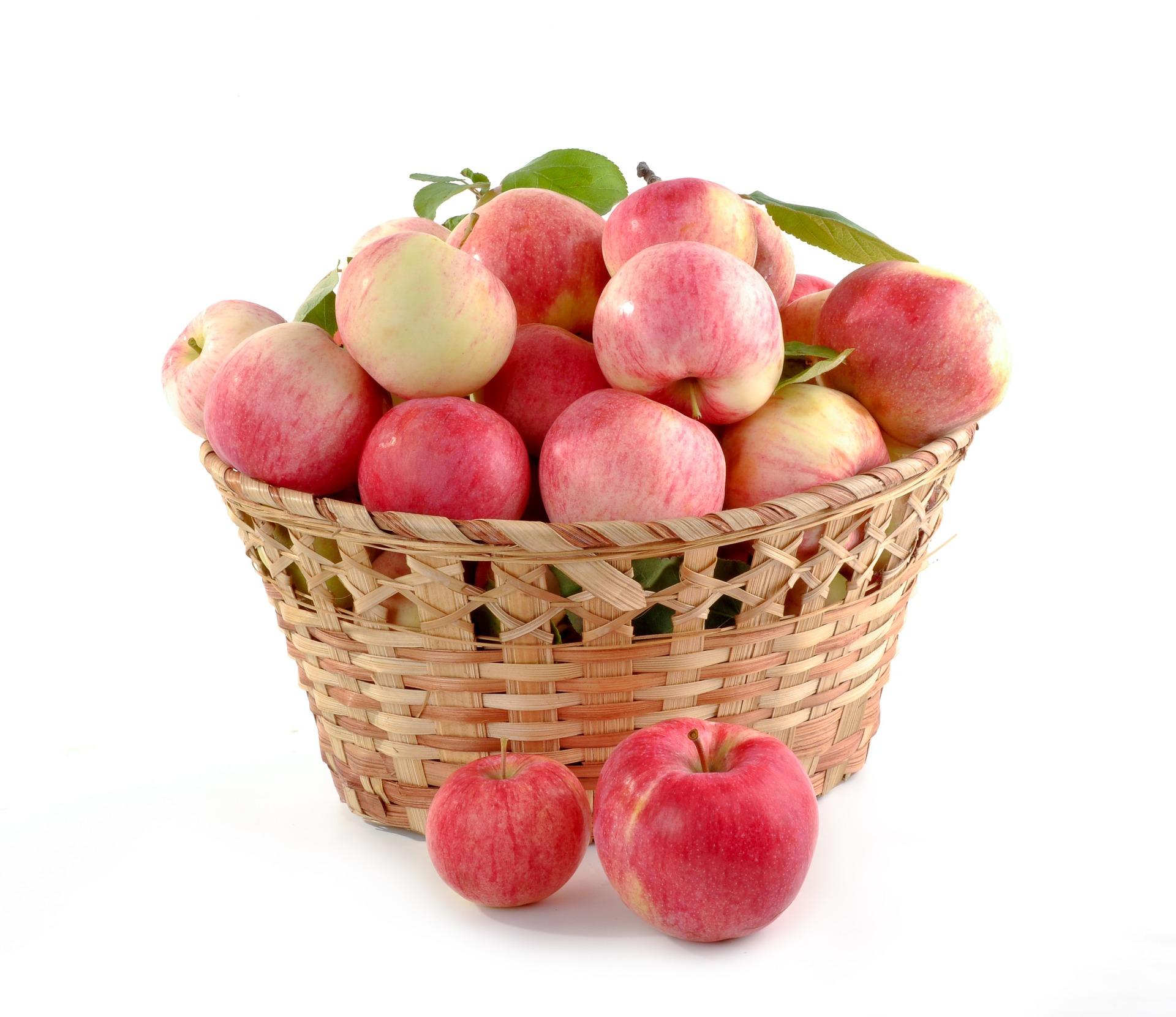 Cesta de Manzanas