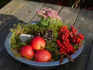 Manzanas decorativas